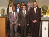 وزير التعليم العالي يزور المكتب الثقافى المصرى بإسبانيا