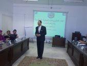 رئيس جامعة دمنهور يفتتح دورة إعداد المشروعات البحثية التنافسية