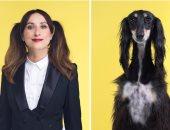 هل تشبه كلبك؟.. مصور إنجليزى يبرز التشابه بين الكلاب والأشخاص × 15 صورة