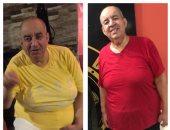 """فيديو.. الفنان محمد التاجى يخسر 15 كيلو من وزنه بسبب """"الأب الروحى"""""""