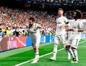 ريال مدريد يتقدم على روما بهدف المايسترو إيسكو فى الشوط الأول.. فيديو