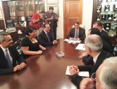 الرئيس القبرصى يستقبل وزير البترول بعد توقيع مشروع خط الغاز
