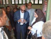 محافظ الجيزة يراجع استعدادات المدارس للعام الدراسى الجديد