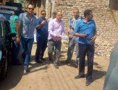 حملة مكبرة لرفع الإشغالات بمنشأة القناطر بالتنسيق مع الشرطة