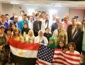 الجالية المصرية فى أمريكا تستعد لاستقبال السيسى بالأعلام والأغانى الوطنية