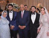 صور.. على عبد العال والنواب فى زفاف  محمود الخضراوى وتقى عبد الله