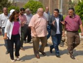 رئيس جامعة عين شمس يتوجه لمكتب رئيس الجامعة السابق لتهنئته بالعام الدراسى