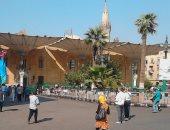 صور.. زيارات لضريح الحسين فى ذكرى عاشوراء وسط تكثيف أمنى