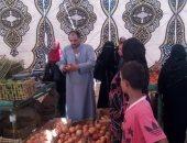 """تجار الجملة بمبادرة """"كلنا واحد"""" لبيع اللحوم والخضار بأسعار مخفضة: كله عشان مصر"""