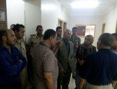 """وكيل """"صحة الشرقية"""" يتابع تلقى مرضى الغسيل الكلوى للخدمة بمنافذ مستشفى ديرب نجم"""