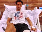 محمد نجيب يبدأ السبت التأهيل من جراحة الركبة ويعود للملاعب بعد شهر