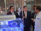 صور.. محافظ بنى سويف يتفقد أقسام الطوارئ بمستشفى ناصر العام
