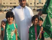 شاهد كيف شارك 2000 متطوع سعودى فى استعدادات الاحتفال باليوم الوطنى للمملكة
