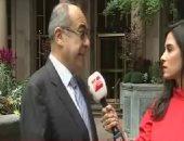 فيديو.. مندوب مصر بالأمم المتحدة: مشاركة الرئيس السيسى تعطى زخماً لمناقشات الجمعية