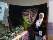 """""""فيروز"""" تجاوزت آلام الانفصال بالفن.. أسست علامة للمنتجات اليدوية وتحلم بالعالمية"""