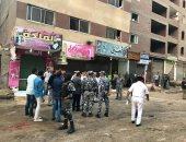 صور.. مدير أمن الجيزة يقود حملة لإزالة التعديات بشوارع العمرانية