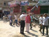 قارئ يشارك بصور لحملة إزالة إشغالات فى شوارع بشتيل بالجيزة