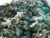 قارئ يشكو انتشار القمامة أمام مدرسة بأرض الميرى بالبحيرة