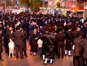 صور.. آلاف اليهود يتظاهرون بتل أبيب ضد قرار بالعمل فى يوم السبت