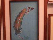 قارئة تشارك بلوحات فنية فى الرسم بالقلم الرصاص والألوان