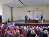 رئيس جامعة كفر الشيخ يتفقد الكليات ويحث الطلاب على المشاركة بالأنشطة