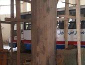 استغاثة أولياء أمور إحدى المدارس الخاصة بالجيزة بعد تصدع سقفها وجدرانها