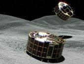 مركبة فضائية تلقى زوجا من الروبوتات على سطح كويكب فى أول مهمة من نوعها