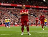 شاكيري يسجل ثانى أهداف ليفربول ضد فولهام.. فيديو