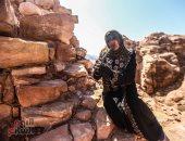 صورة اليوم... أنغام الناى تحتضن جمال الطبيعة فى جبال الأردن