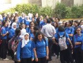 صور.. انطلاق الدراسة فى 10 محافظات وسط حضور مكثف من الطلاب
