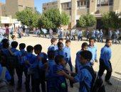 مدراء الأمن يتفقدون محيط المدارس للتأكد من الانتشار الشرطى مع بداية الدراسة