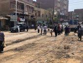 حملة لإعادة فتح شارع رئيسى بالعياط أغلقته الإشغالات لسنوات.. صور
