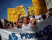 صور.. تظاهرات فى البرتغال احتجاجا على ارتفاع أسعار الإيجارات
