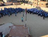 صور.. انطلاق الدراسة فى مدارس شمال سيناء وعودة 9543 طالبا لفصولهم