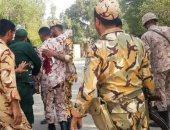 مقتل 9 عسكريين فى الهجوم على العرض العسكرى جنوب إيران