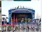 فيديو.. رئيس إيران يغادر المنصة فور استهداف مسلحين عرضا عسكريا فى الأهواز