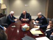 وزير الخارجية يحذر ديمستورا من مخاطر منح العناصر الإرهابية ممرات آمنة