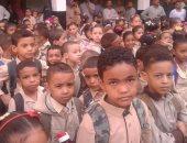 مدارس سوهاج تستقبل اليوم 1137293 طالبا مع بدء العام الدراسى
