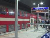 شاهد.. إسرائيل تدشن خط قطار سريع جديد يربط القدس المحتلة بتل أبيب
