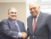 وزير الخارجية لنظيره البحرينى: أمن الخليج جزء من الأمن القومى العربى والمصرى