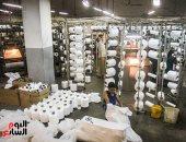 القابضة للقطن: شركات الغزل والنسيج خالية من فيروس كورونا والعمال بخير