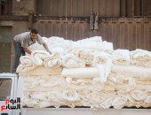 هيئة فرانكفورت الألمانية تدرس إقامة معرض عالمى للنسيج فى مصر