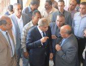 محافظ المنيا يحيل مدير مدرسة للتحقيق لضعف مستوى النظافة