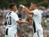 رونالدو وديبالا يقودان يوفنتوس ضد فروسينونى فى الدوري الإيطالي