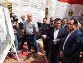 رئيس الوزراء يتفقد الإسكان الاجتماعى بمدينة سوهاج الجديدة