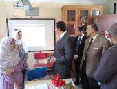 نائب وزير التعليم لشئون المعلمين يتابع تطبيق النظام التعليمى الجديد ببنى سويف