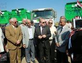 تسليم معدات البرنامج الوطنى لإدارة المخلفات الصلبة باستثمارات 62 مليون جنيه بكفر الشيخ