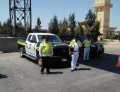 رادار المرور يضبط 2019 مخالفة لسيارات تسير بسرعات جنونية بالطرق بين المحافظات
