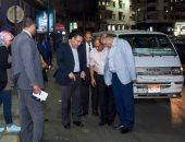 """جولة مفاجئة لمحافظ الإسكندرية لمتابعة استعدات """"الصرف الصحى"""" لموسم الشتاء"""