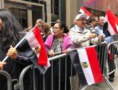 صور.. مسيرتان فى شوارع نيويورك تأييدا للرئيس عبد الفتاح السيسى